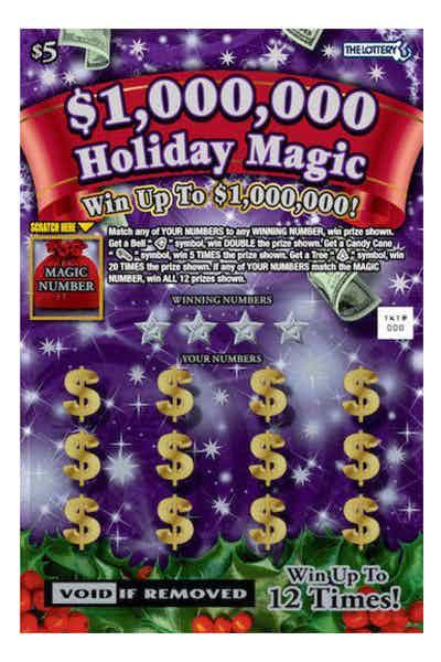 $1,000,000 Holiday Magic $5