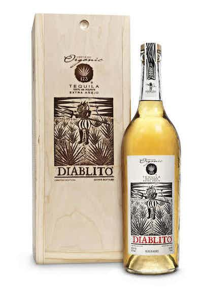 123 Organic Extra Añejo Tequila (Diablito)
