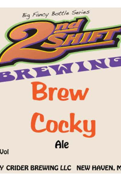 2nd Shift Brew Cocky Double IPA