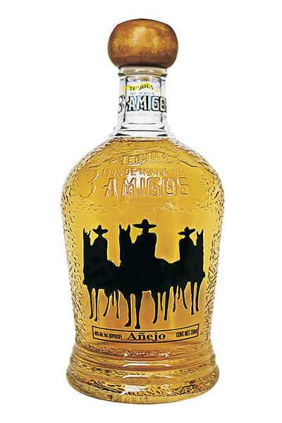 3 Amigos Anejo Tequila