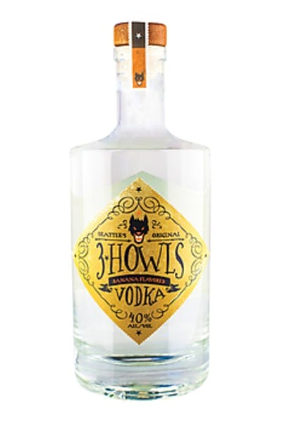 3 Howls Banana Fosters Vodka
