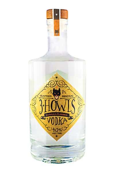 3 Howls Banana Fosters Vodka