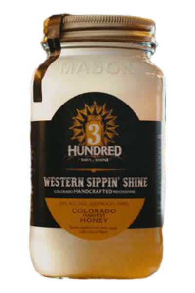 3 Hundred Days of Shine Colorado Harvest Honey Moonshine