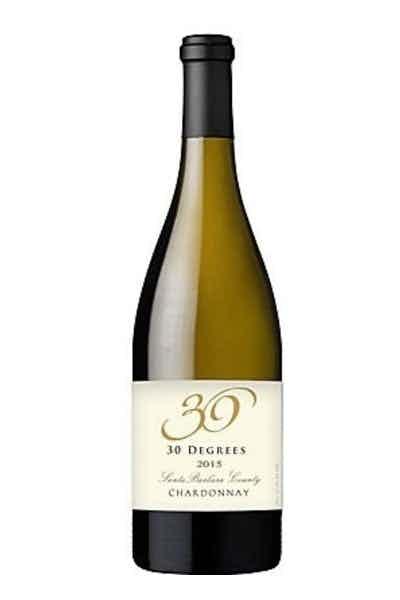 30 Degrees Santa Barbara Chardonnay