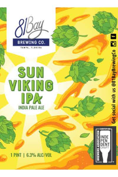 81bay Sun Viking IPA