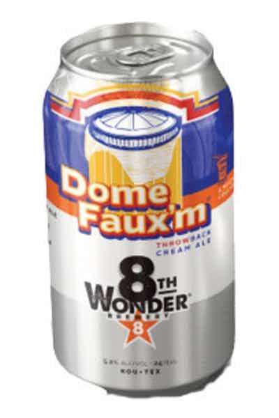 8th Wonder Dome Faux'm Cream Ale