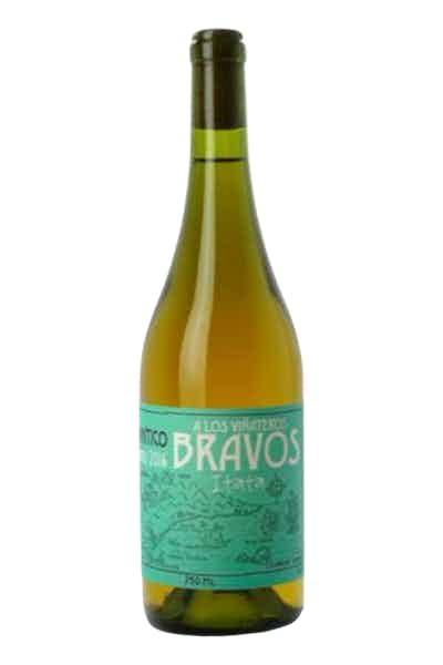 A Los Vinateros Bravos Blanco