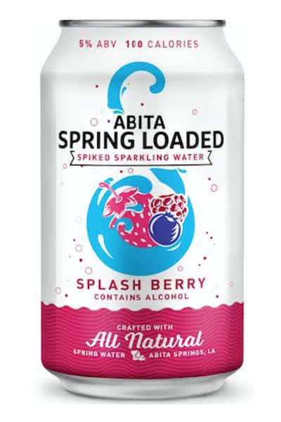 Abita Spring Loaded Splash Berry Spiked Sparkling Water