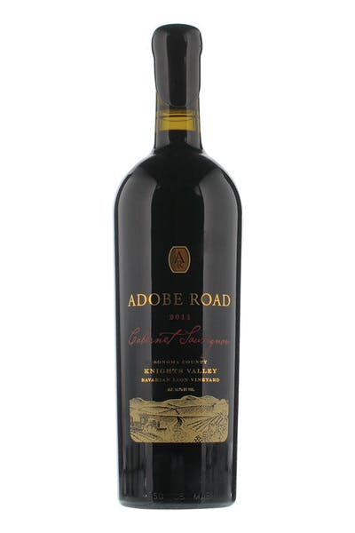 Adobe Road Cabernet Knights Valley 2011