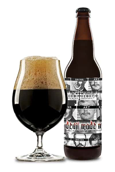 Adroit Theory The Devil Made Me Smoked Porter