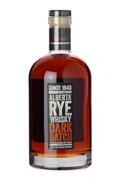 Alberta Prem Rye Dark Batch