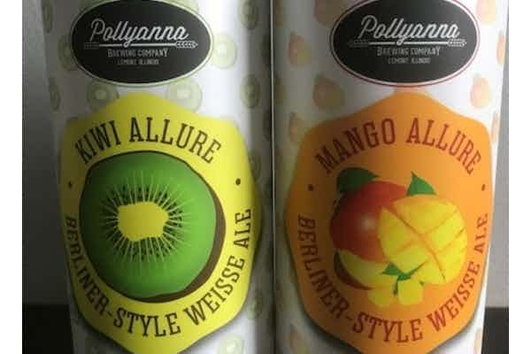 Pollyanna Allure Series of Berliner Weiss with Fruit