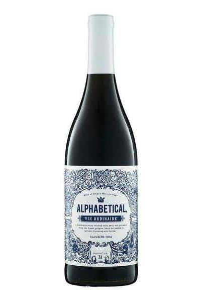 Alphabetical Red Blend