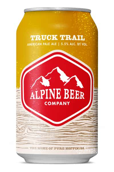 Alpine Beer Co. Truck Trail Pale Ale