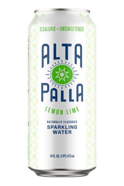 Alta Palla Lemon Lime Seltzer