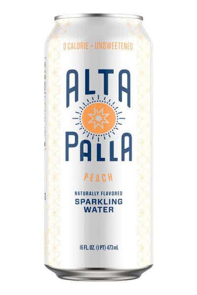 Alta Palla Peach Seltzer