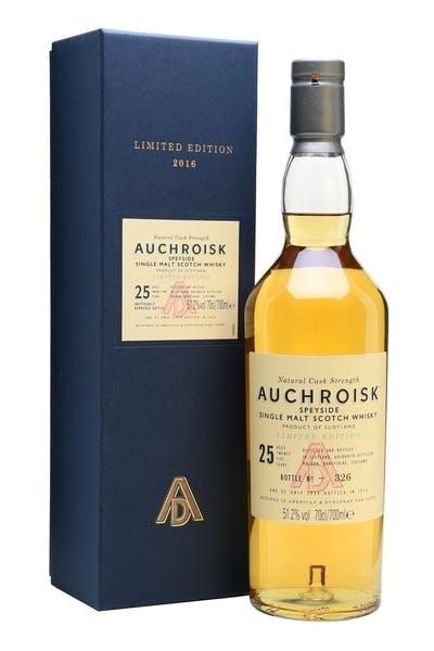 Auchroisk Single Malt Scotch 25 Year