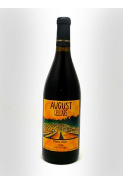 August Cellars Pinot Noir