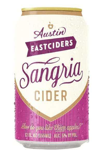 Austin Eastciders Sangria Cider (Seasonal)