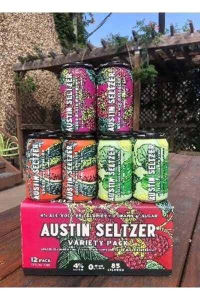 Austin Seltzer Variety 12 Pack
