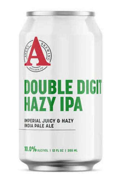 Avery Brewing Double Digit Hazy Double IPA