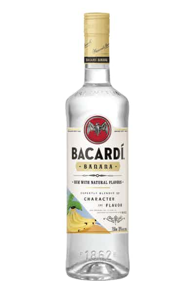 BACARDÍ Banana Flavored White Rum