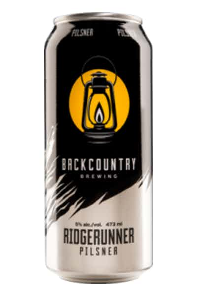 Back Country Ridgerunner Pilsner