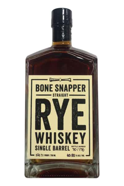 Backbone Bone Snapper 5 Year Rye Whiskey