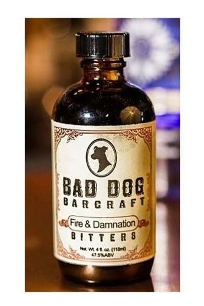 Bad Dog Barcraft  Fire & Damnation Bitters