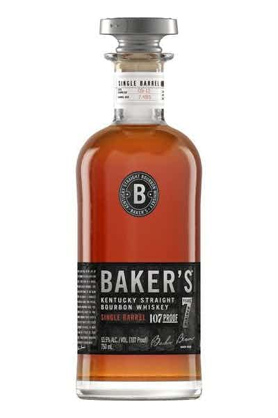 Baker's Single Barrel 7 Year Kentucky Straight Bourbon Whiskey