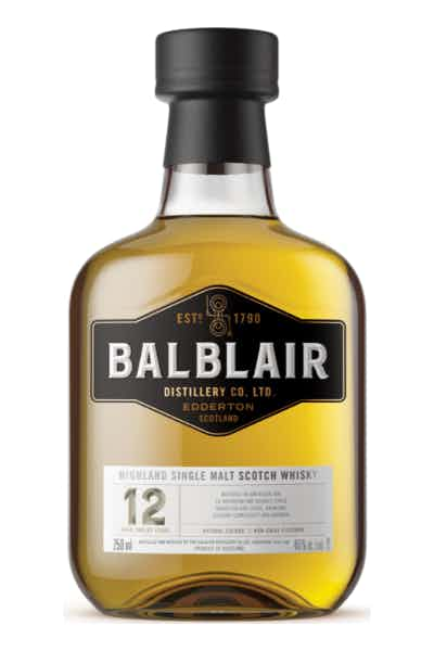 Balblair 12 Year Old Single Malt Scotch