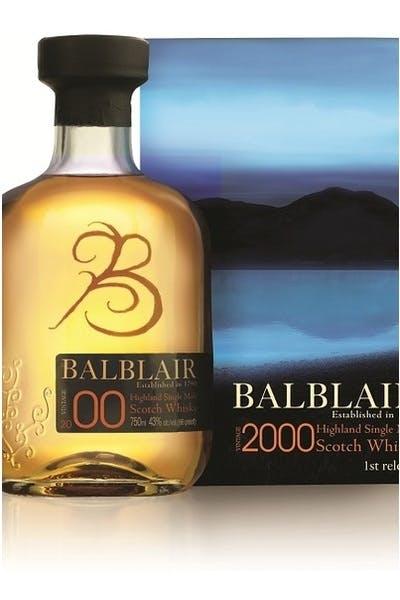 Balblair Single Malt Scotch 2000