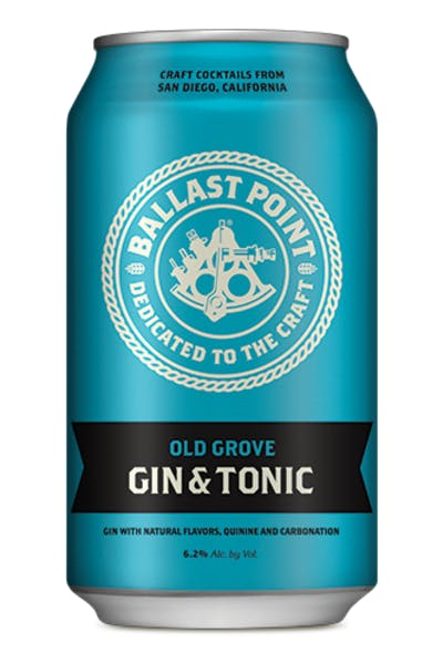 Ballast Point Old Grove Gin & Tonic