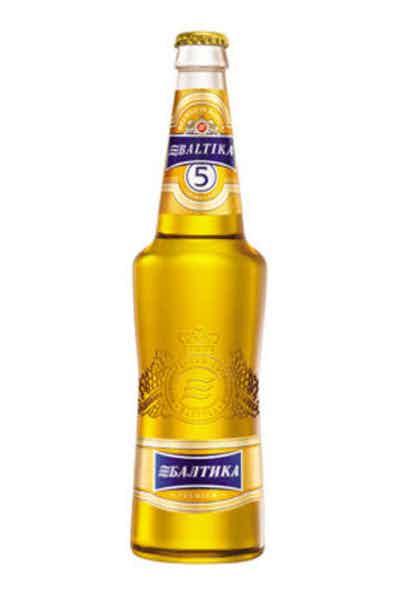 Baltika #5 Golden Lager