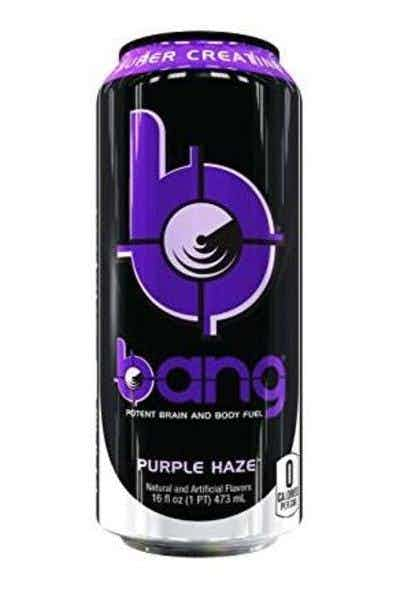 Bang Purple Haze Energy Drink