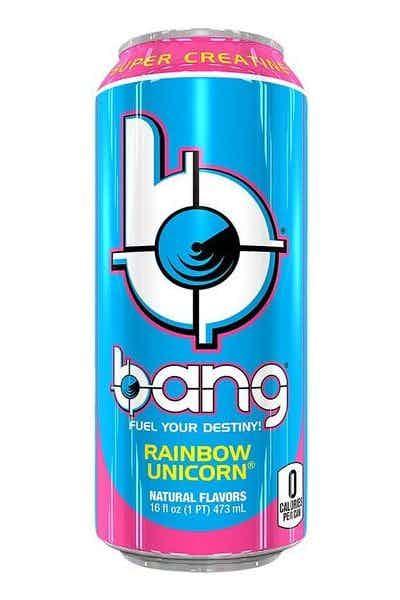 Bang Rainbow Unicorn Energy Drink