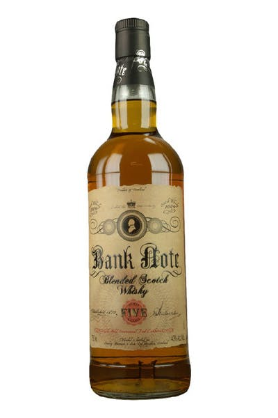 Bank Note 5 Yr Blended Scotch