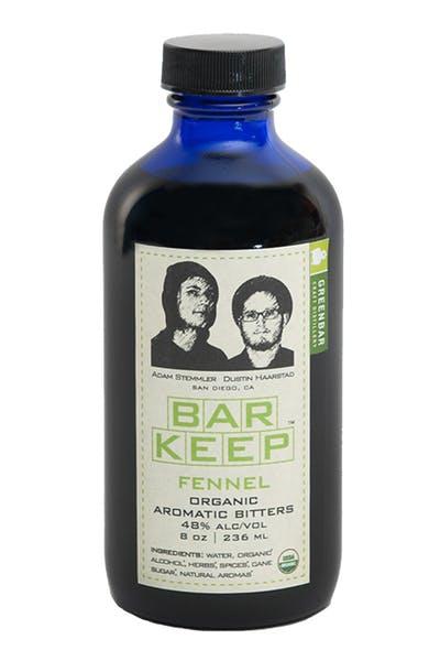 Bar Keep Fennel Bitters from Greenbar Distillery