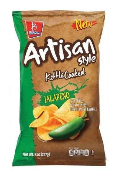 Barcel Artisan Kettle Cooked Jalapeno Chips