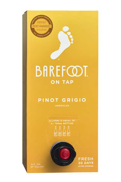 Barefoot On Tap Pinot Grigio