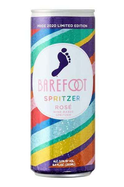 Barefoot Spritzer Rose Pride Can