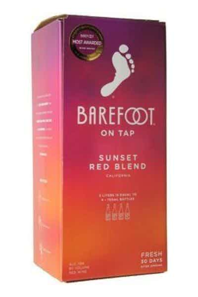 Barefoot On Tap Red Blend