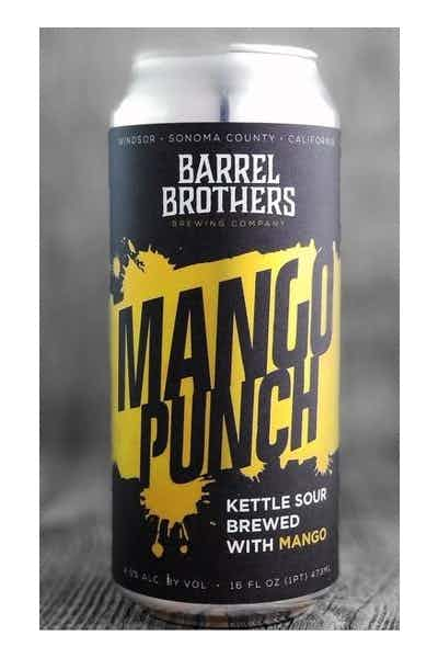 Barrel Brothers 'Mango Punch' Sour with Mango