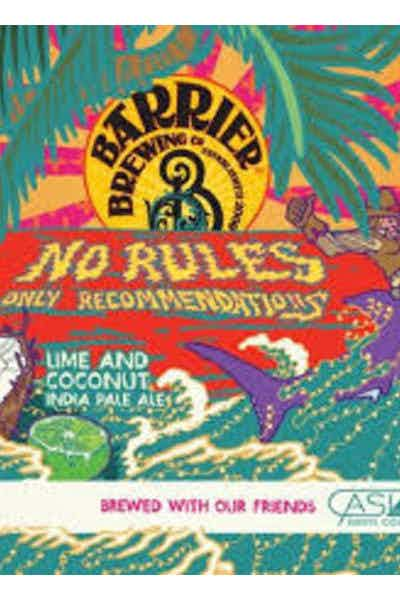 Barrier No Rules Just Reservations