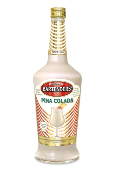 Bartenders Cocktails Pina Colada