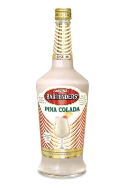 Bartenders Cocktails Pina Colada