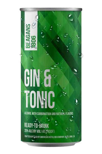 Beagans 1806 Gin & Tonic