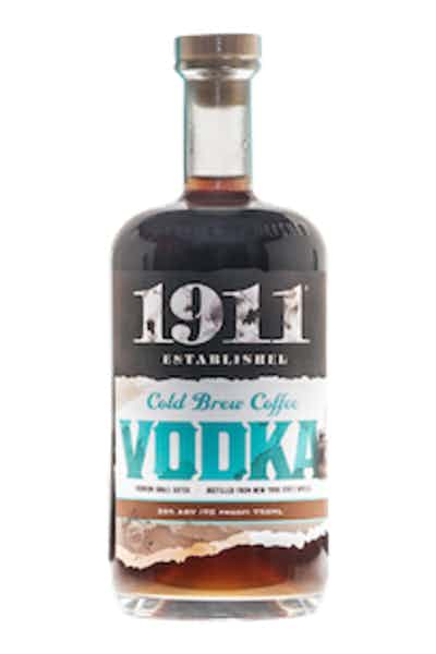 Beak & Skiff 1911 Cold Brew Coffee Vodka