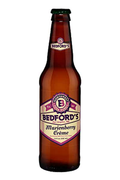 Bedford's Marionberry Cream Soda