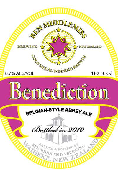 Ben Middlemiss Benediction Ale
